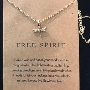 "Jewelry - ""Free Spirit"" pendant necklace"